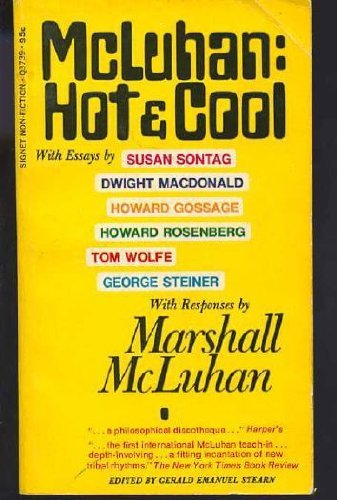 9780451037398: McLuhan: Hot & Cool