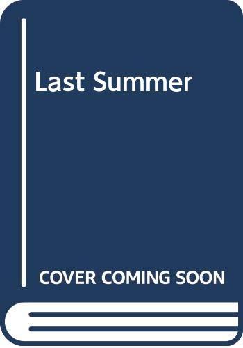 9780451038548: Last Summer