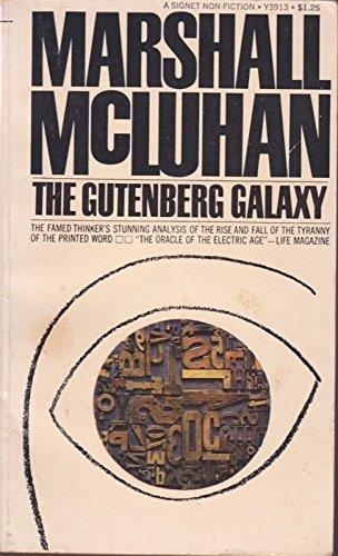 9780451039132: The Gutenberg Galaxy