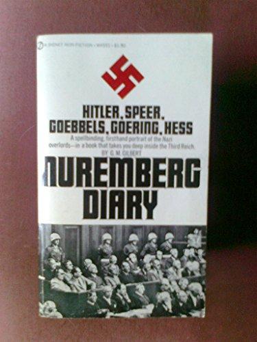 9780451045515: The Nuremberg Diary