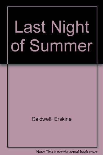 9780451049476: Last Night of Summer