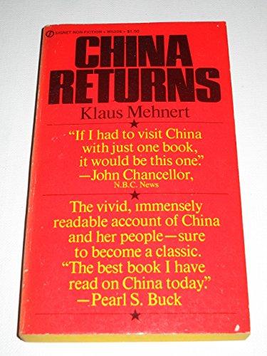 9780451052261: China Returns