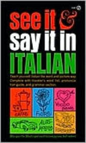 9780451054487: See It and Say It in Italian