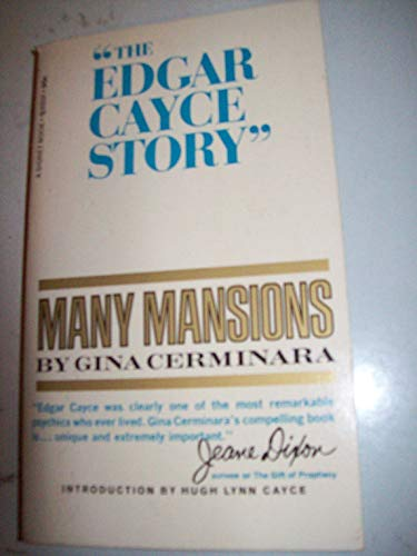 9780451056313: Many Mansions: The Edgar Cayce Story of Reincarnation