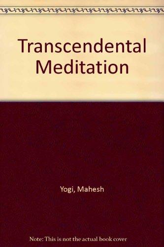 9780451057198: Transcendental Meditation