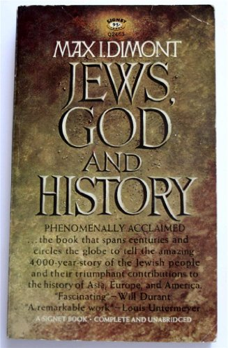 9780451057587: Jews, God, and History