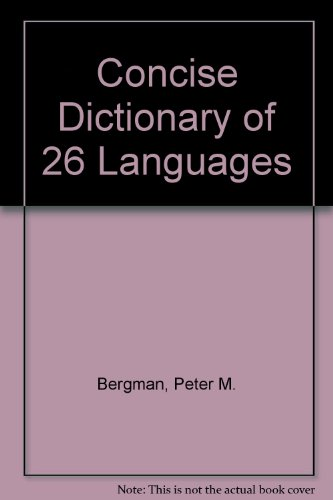 9780451058591: The Concise Dictionary of 26 Languages