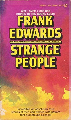 9780451058997: Strange People