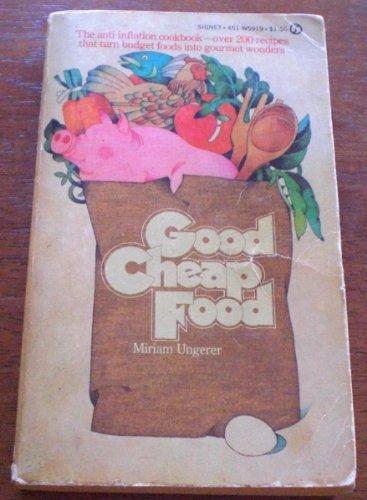 9780451059192: Good Cheap Food