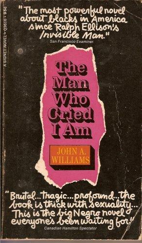 9780451062772: The Man Who Cried I Am