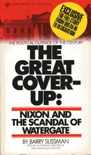 9780451063038: The Great Coverup: Nixon and the Scandal of Watergate