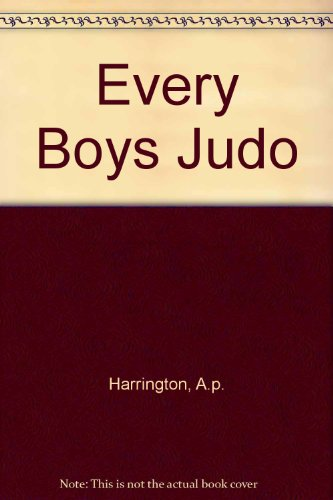 9780451064073: Every Boys Judo