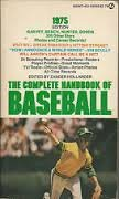 9780451065322: The Complete Handbook of Baseball 1975: 1975 Edition