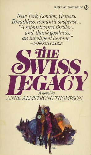 9780451066350: The Swiss Legacy