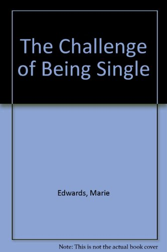 9780451066411: The Challenge of Being Single