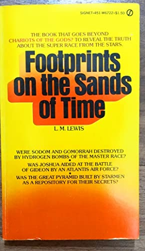 9780451067227: Footprints on the Sands of Time