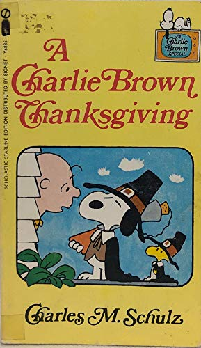 9780451068859: A Charlie Brown Thanksgiving
