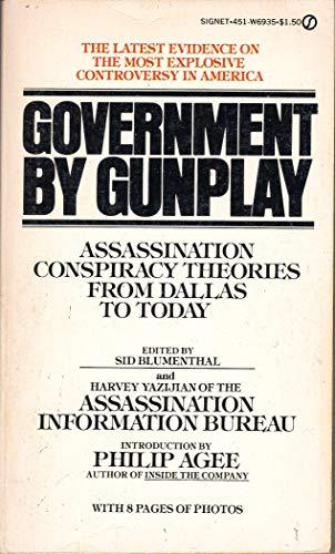 9780451069351: Government by Gunplay