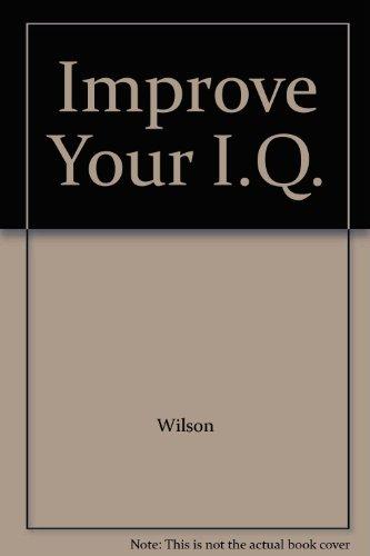 9780451069689: Improve Your I.Q.