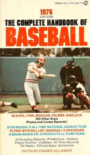 9780451070159: The Complete Handbook of Baseball 1976: 1976 Edition