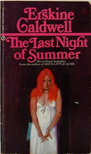 9780451072719: Last Night of Summer