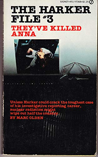 Harker File, No. 3: They've Killed Anna (0451073681) by Olden, Marc