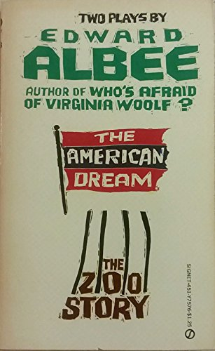 9780451075765: Title: The American Dream and Zoo Story