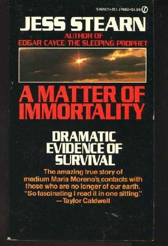 9780451076526: A Matter of Immortality