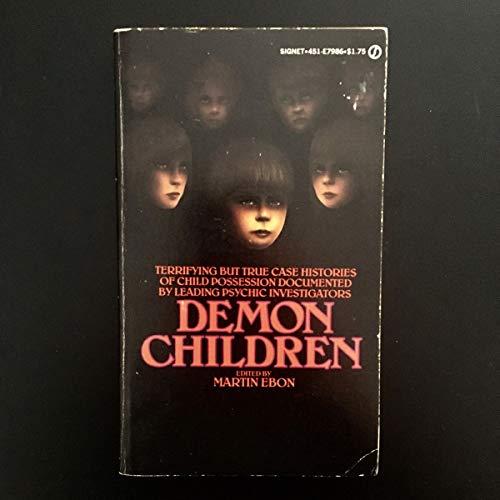 Demon Children (Signet Books): Ebon, Martin