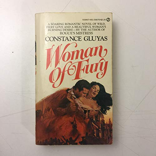 9780451080752: Woman of Fury (A Signet book)