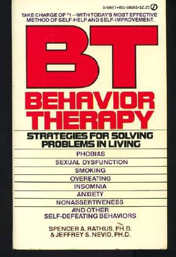 9780451080851: BT Behavior Therapy