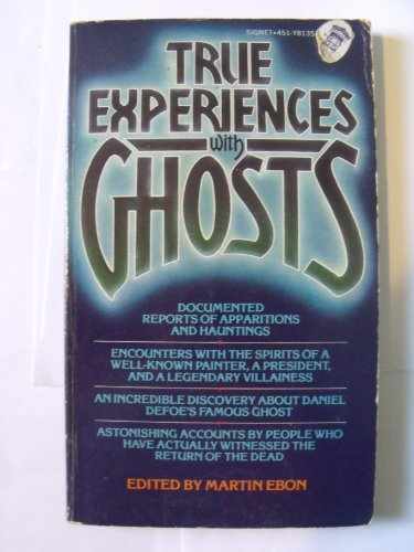 9780451081353: True Experiences with Ghosts