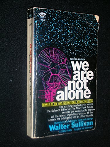 9780451081681: We are Not Alone: Search for Intelligent Life in the Universe (Signet Books)