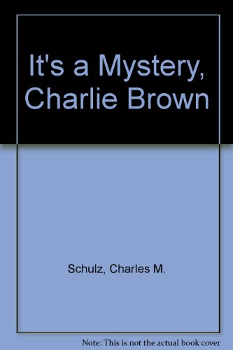 9780451082381: It's a Mystery, Charlie Brown