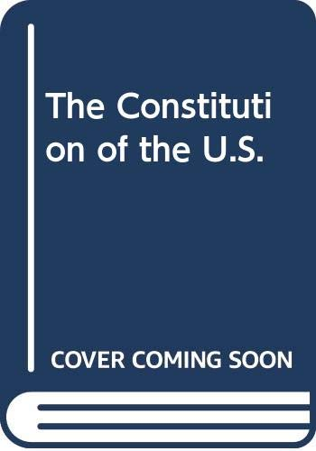 9780451082749: The Constitution of the U.S.
