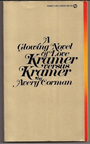 9780451082824: Kramer vs. Kramer