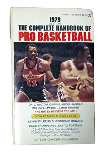 9780451083043: The Complete Handbook of Pro Basketball 1979: 1979 Edition