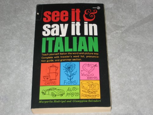 9780451085429: See it and Say it in Italian