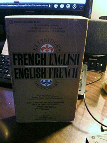 9780451085894: French/English, English/French Dictionary, Kettridge's