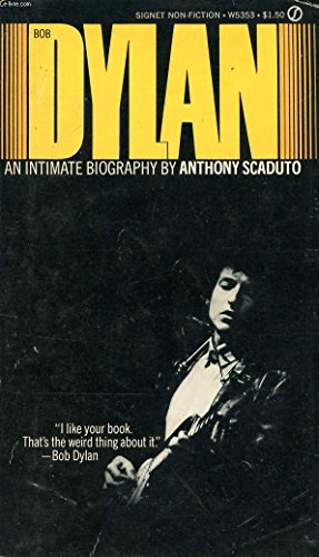 9780451086099: Bob Dylan [Paperback] by Anthony Scaduto