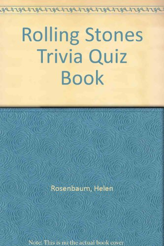 Rolling Stones Trivia (9780451086693) by Helen Rosenbaum