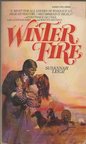 Winter Fire (0451086805) by Susannah Leigh