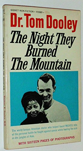 9780451086815: The Night They Burned the Mountain