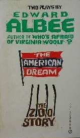9780451087355: The American Dream and Zoo Story