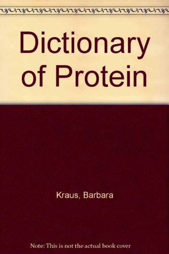 9780451087911: Dictionary of Protein