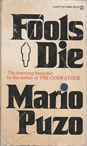 9780451088819: Puzo Mario : Fools Die (Signet)