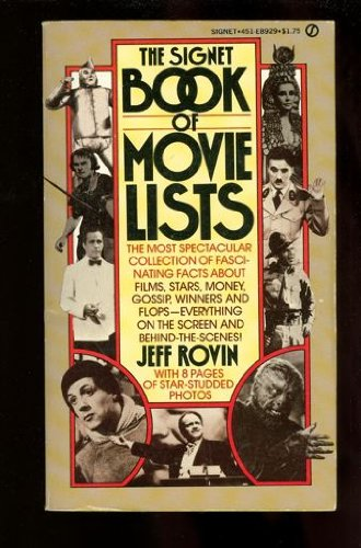 9780451089298: The Signet Book of Movie Lists