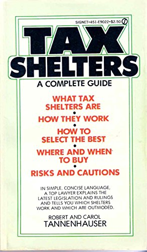 9780451090225: Tax Shelters