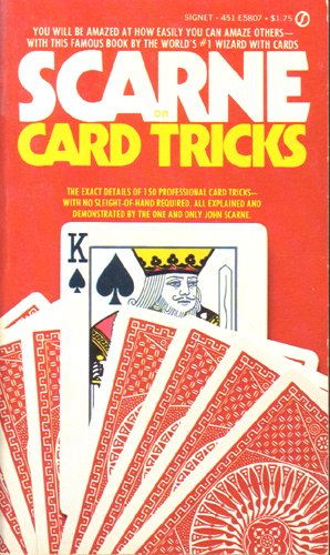 9780451090973: Scarne on Card Tricks