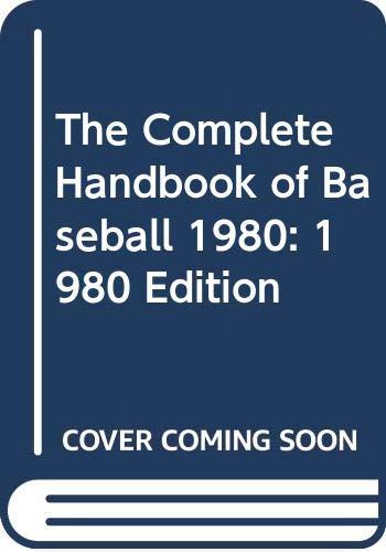 9780451091291: The Complete Handbook of Baseball 1980: 1980 Edition